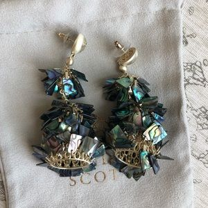 Abalone Shel Earrings - Neiman Marcus Excl.